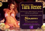 Playboy model Tara Renee birthday bash Industry Nightclub