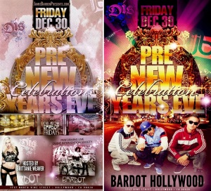 Bardot Hollywood Free 2012 New Year's Party | Los Angeles Nightlife ...