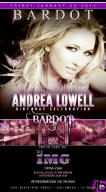 Jamie Barren presents Bardot Hollywood Friday nights.