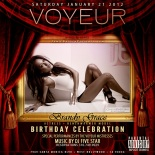 Jamie Barren presents Voyeur LA nightclub.