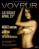 Jamie Barren presents Voyeur LA Saturdays.