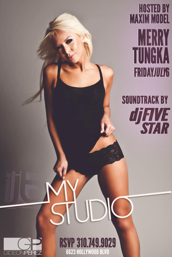"""Maxim Model Merry Tungka Hosts MyStudio Hollywood"""