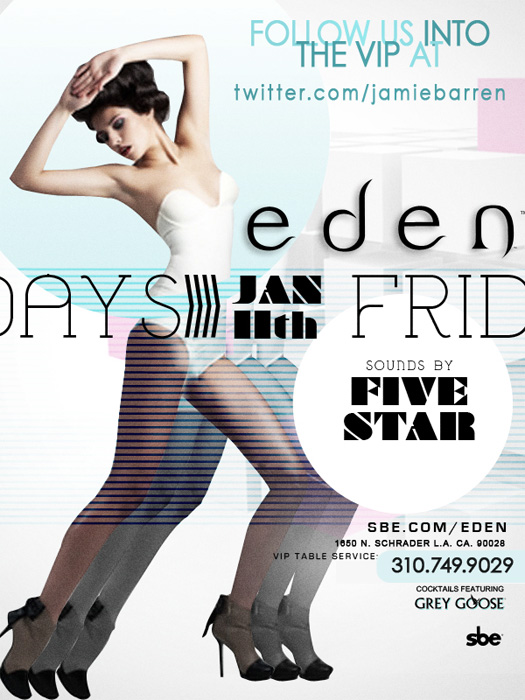Fridays at Eden Hollywood Nightclub