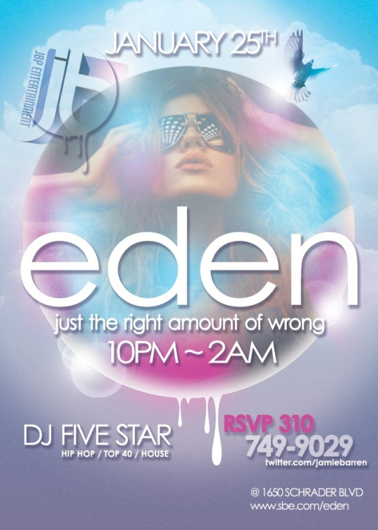 Eden Hollywood Nightclub Fridays