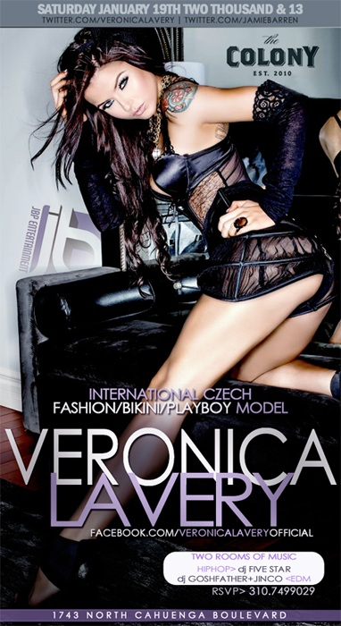 Veronica LaVery Birthday at Colony Hollywood