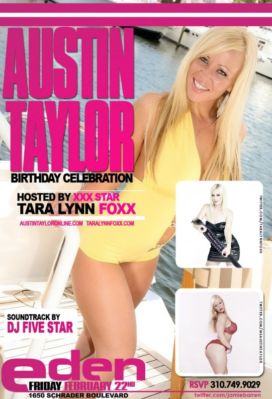 Tara Lynn Foxx Hosts Austin Taylor Birthday at Eden