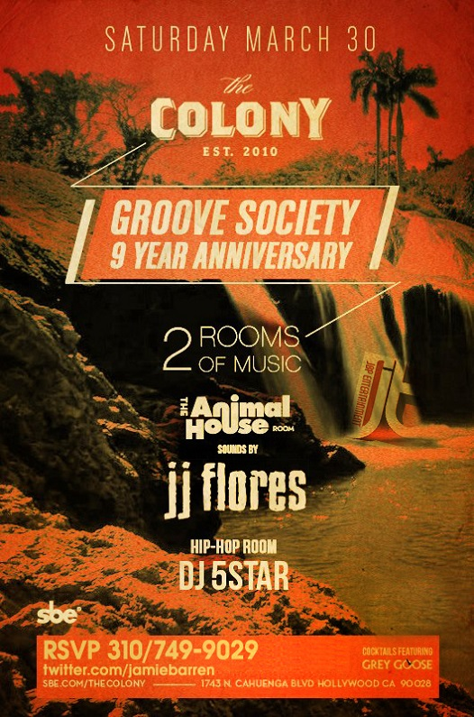 Colony Hollywood Saturdays in Los Angeles