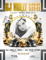 Eden Hollywood Fridays w/Dj Holly Rich