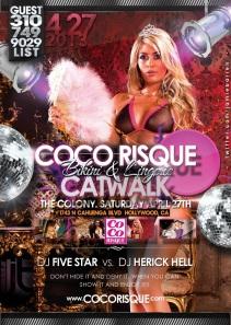Coco Risque Catwalk Bikini Lingerie Show