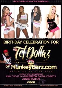 Eden Hollywood Nightclub Celebrates MunkeyBarz
