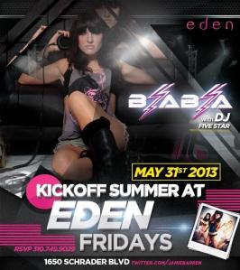 Dj Bia Bia Summer Kickoff Party at Eden