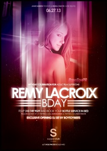 Adult Star Remy LaCroix Birthday at Supperclub LA
