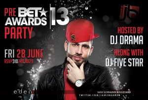Dj Drama Hosts BET Awards Pre-Party at Eden