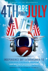 Pre-4th July Party at Sound Nightclub