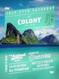 Mixed Reactions Saturday at Colony LA