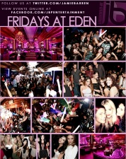 """Eden Hollywood Nightclub in Los Angeles"""