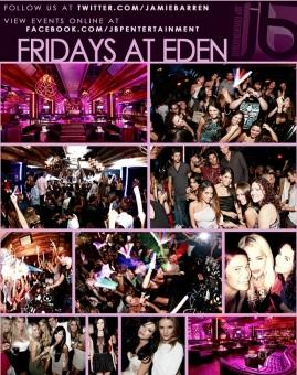 """Eden Hollywood Nightclub in Los Angeles"""