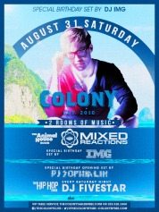 """Colony Hollywood LDW 2013 Saturday August 31"""