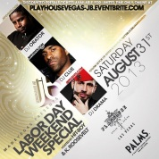 """Labor Day Weekend at Playhouse Las Vegas inside Palms Casino"""