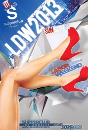 """""""Supperclub Hollywood 2013 Labor Day Weekend"""""""