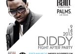 """Diddy Hosts Mayweather/Canelo Fight Party Palms Vegas"""