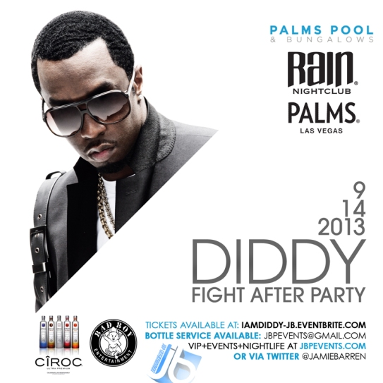 """Diddy Hosts Mayweather/Canelo Fight Party Palms Vegas"""