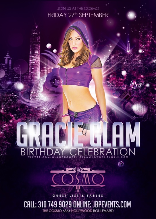 """""""Gracie Glam Birthday at Cosmo Hollywood"""""""