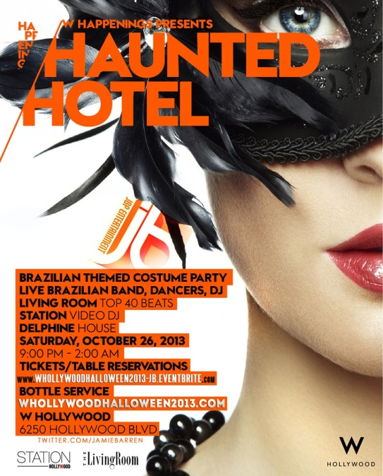 """Haunted W Hotel Hollywood 2013"""
