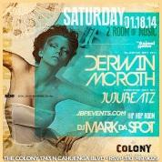"""""""Colony Hollywood Saturdays 2014 January 18 flyer 650x650"""""""
