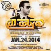 """Playhouse Hollywood Fridays 2014 January 24 flyer 800x800"""