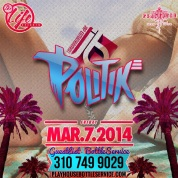 """DJ Politik at Playhouse Nightclub flyer750x750"""