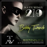 """AV Nightclub Saturdays Bobby French 600x600"""