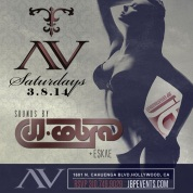 """DJ Cobra Saturday AVnightclub flyer 675x675"""