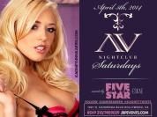"""""""AV Nightclub Saturdays Kagney Linn Karter Birthday"""""""