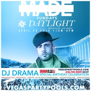 DJ Drama Birthday Sunday Daylight Beach