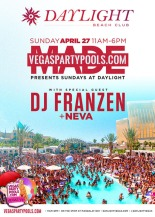 """Daylight Vegas Pool Parties"""