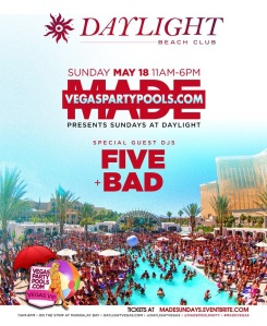 """""""Daylight Vegas Pool Party Sundays"""""""