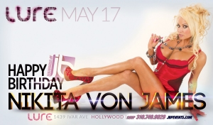 """Nikita Von James Birthday 