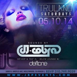 """DJ Cobra Saturday Tru Hollywood"""