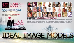 """""""Ideal Image Models to celebrate Anniversary Party at Playhouse Hollywood"""""""