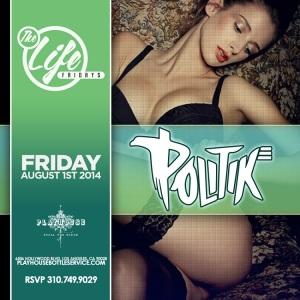"""Playhouse Hollywood Fridays 2014 August 1st"""
