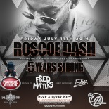 """Roscoe Dash Hosts Playhouse Nightclub 5yr Anniversary"""