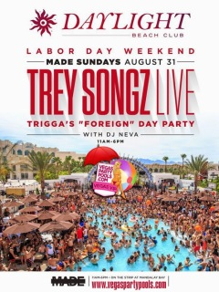 """Trey Songz Vegas Labor Day Weekend 2014"""
