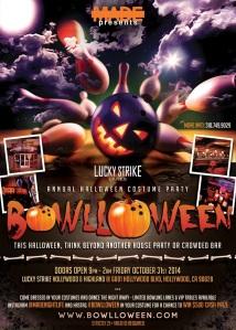 """""""Halloween 2014 Lucky Strike Hollywood"""""""