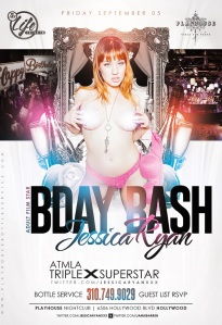 """Playhouse Nightclub Jessica Ryan ATMLA Birthday Celebration"""