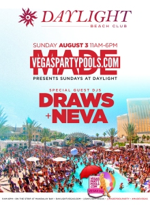 """MADE Sundays Daylight Pool Party"""