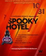 """Spooky Hotel W Hollywood Halloween"""