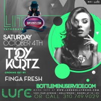 """Lure Nightclub Saturdays 2014 October 4"""