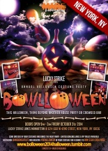 """Bowlloween 2014 New York Halloween"""