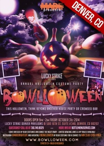 """Lucky Strike Denver Halloween"""